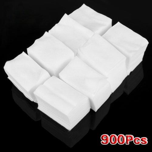 900 X Carré Cellulose En Coton 6x4cm Pr Nail Art Ongle