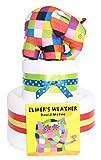 Elmer the Elephant à 2étages à couches gâteau Panier cadeau bébé–Fast & Livraison gratuite.