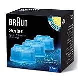 Braun Clean&Renew Reinigungskartusche CCR3, 3er Pack