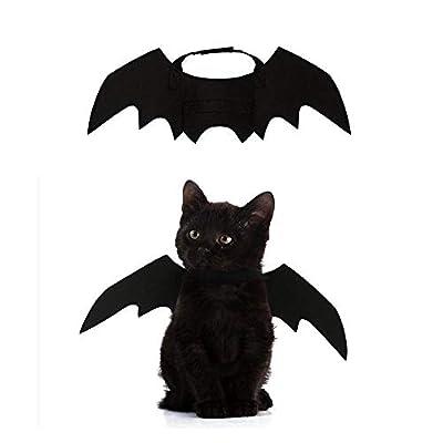 Leegoal Pets Bat Wings, Halloween Pet Bat Costume for Dogs, Cats, Halloween