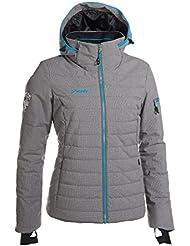 Phenix Powder - Chaqueta de Esquí / Nieve Color Gris para Mujer - 42