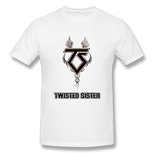 SchrittGlucklich Men's Twisted Sister Band T-shirt (XXX-Large)