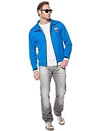 Nebulus Softshelljacke Garda - Chaqueta técnica para hombre, color azul, talla M