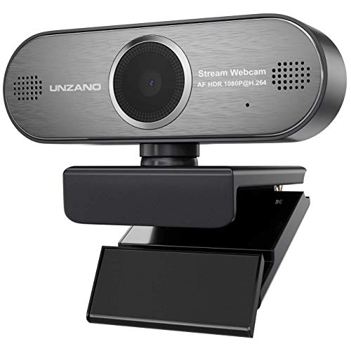 Webcam 1080P HD Pro Stream Video Autofokus Streaming, Aufnahme, Conferencing Digitale Webkamera HDR Video mit Mic USB Widescreen für PC, Laptops und Desktop