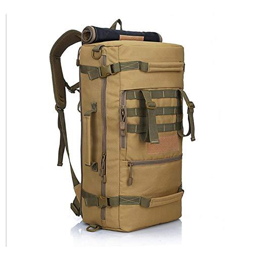 JKLSNMA Scarpe da Trekking Alta qualità 50L Nuovo Tattico Militare Zaino Borse da Campeggio Alpinismo Borsa da Trekking da Uomo Zaino da Viaggio