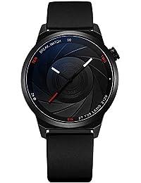 BREAK Reloj único para Hombres, Reloj de Cuarzo Resistente al Agua Serie de Fotógrafo,