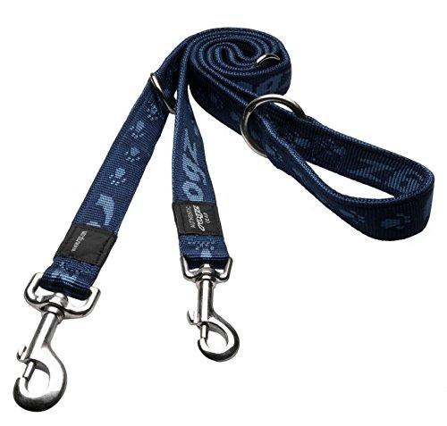 Rogz HLM25-B Alpinist Leine/K2, L, blau (Super-pet-dschungel)
