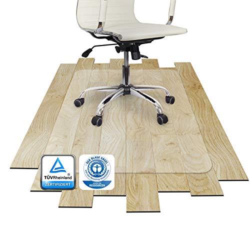 Bodenschutzmatte PET ®Performa für Hartboden mit TÜV und Blauer Engel - 4 Größen wählbar - 117x153cm