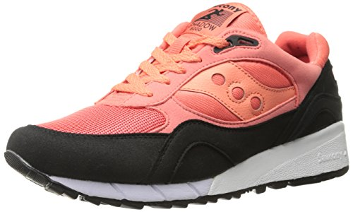 Saucony Shadow 6000 Coral Black Rouge
