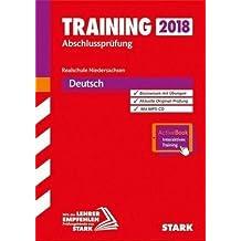 Training Abschlussprüfung Realschule Niedersachsen - Deutsch - inkl. Online-Prüfungstraining