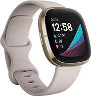 Fitbit Sense - Smartwatch avanzado de salud con herramientas avanzadas de la salud del corazón, gestión del es