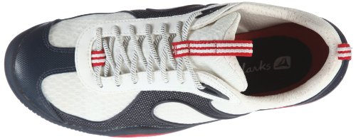 Clarks Jetsam Drift 20350271, Scarpe da barca donna Bianco (Weiss (White Synthetic))