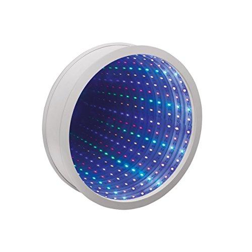 Sensorische Unendlichkeit Spiegel Tunnel Licht Entspannende Runde Wand Schreibtisch Stimmungslampe 42 LED