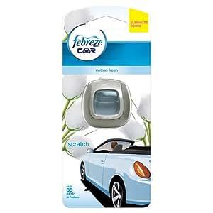 Febreze Clip-on Car Air Freshener Starter Kit Cotton 2 ml