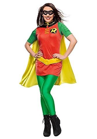 Red Robin Costume Dc - DC Women's Robin Fancy dress costume