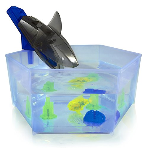 Hexbug 503013 - Aquabot Shark Tank, Elektronisches Spielzeug (Shark Tank Im Aus)