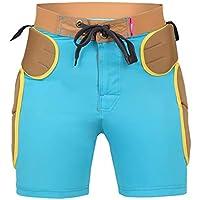 LHKAVE Protecciones Acolchadas para La Cadera Pantalones Cortos Equipo De Protección para Montar En Bicicleta Patinar Sobre Tablas De Snowboard, Protector De Rodilla,XL