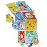Taf Toys Stoffbuch Tuch Buch Entdeckungsbuch für Babybett Lernspielzeug 11655