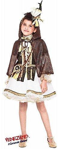 lung Mädchen Deluxe mittelalterlich Robin Hood Film Buch Tag Woche Verkleidung Kleid Kostüm Outfit 3 - 10 Jahre - 10 years (Mittelalterliches Mädchen-kleid)