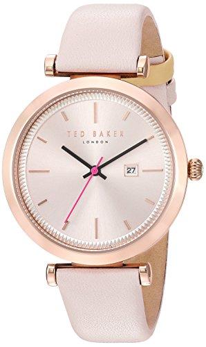 Ted Baker Reloj rosado rosado de la caja del oro del ava 36m m de Womans TE10031518