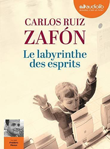 Le Labyrinthe des esprits - Le Cimetière des Livres oubliés 4: Livre audio 3 CD MP3 par Carlos Ruiz Zafón