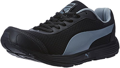 Puma Men's Reef Fashion Dp Puma Black and Quarry Running Shoes - 9 UK/India (43 EU)  available at amazon for Rs.2144