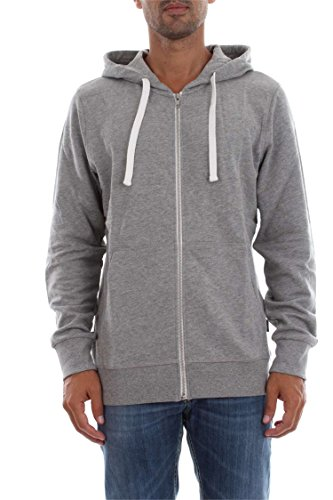 JACK & JONES Herren Sweatjacke Jorholmen Sweat Zip Hood Noos Light Grey Melange
