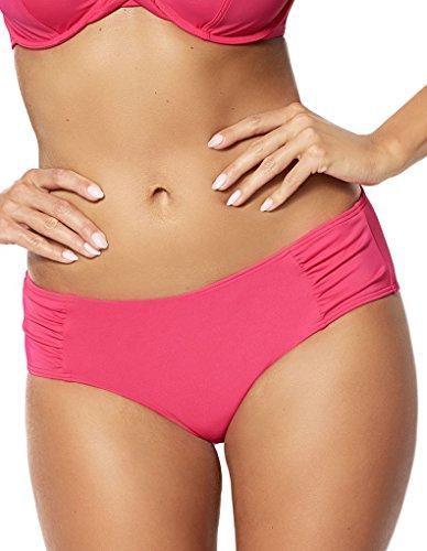 Sans Complexe 60B037 Women's Belle-île Pink Solid Colour Swimwear Beachwear Bikini Bottom 52 (Beach Belle Bademode)