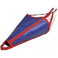 Schwimmender Anker aus 100% PVC, 550 x 500 mm, Blau und Rot