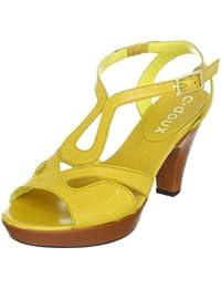 C. Doux 6110 6110 - Sandalias de vestir de cuero para mujer