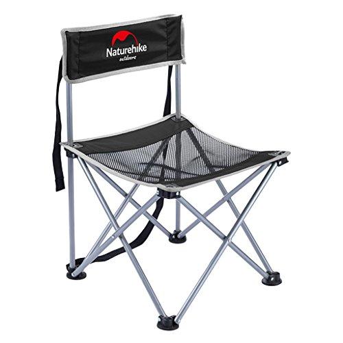 Sharplace Aluminiumlegierung Angelstuhl Faltstuhl Campingstuhl für im Freien, Picknick, Grill,...