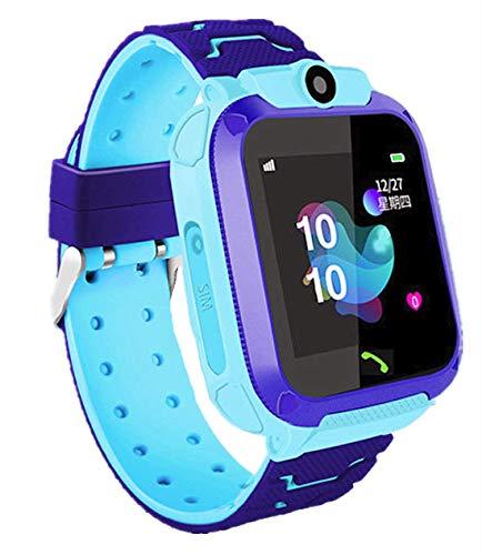 linyingdian Smartwatch Niños, Reloj Inteligente Niña IP67, LBS, Hacer Llamada, Chat de...