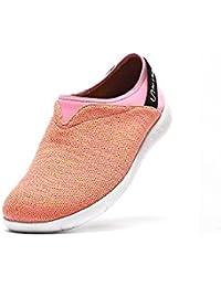 UIN Chaussure de Loafer décontracté de confort de tricot Verona des hommes Verte (40)