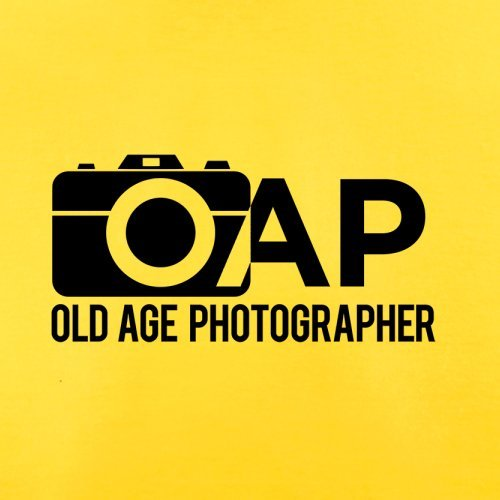 Pensionierter Fotograf - Herren T-Shirt - 13 Farben Gelb