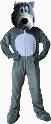 Dress Up America Kinder Cute Grau Wolf Kostüm (Schwanz Graue Wolf)