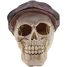 Halloween Skull Ornamente Aquarium Landschaftsbau Dekoration Neuheit Kreatives Spielzeug - Horror Funny Spoof Requisiten