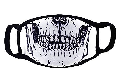 Die Skelett Kiefer Mundmaske, die Fashionasta Collection, -