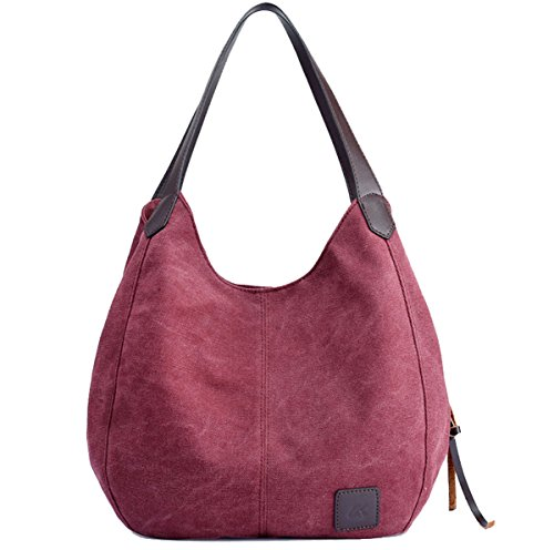 Super Moderna, Borsa A Tracolla Per Donna Rosso Porpora, Rosso 28cm * 13cm * 30cm Viola, Rosso