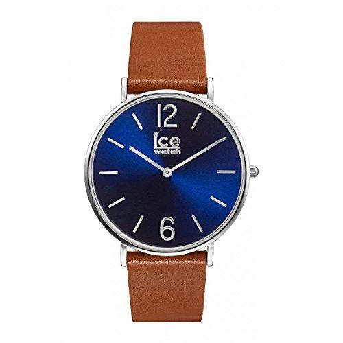 e313f75066ce0 Ice-Watch - CITY tanner Caramel Blue - Montre marron pour femme avec  bracelet en