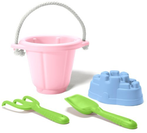 Green Toys Sand Play Set, Pink by Green Toys (Set Green Toys)