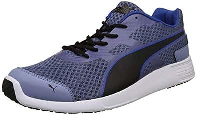 Puma Men's Blue Indigo-Infinity Black Sneakers-10 UK/India (44.5 EU) (4059507915849)