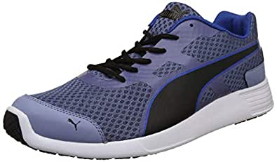 Puma Men's Blue Indigo-Infinity Black Sneakers-10 UK/India (44.5 EU) (4059507915849)