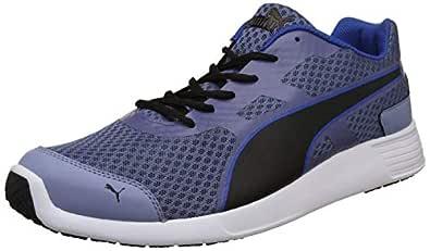 Puma Men's Blue Indigo-Infinity Black Sneakers-6 UK/India (39 EU) (4059507916457)