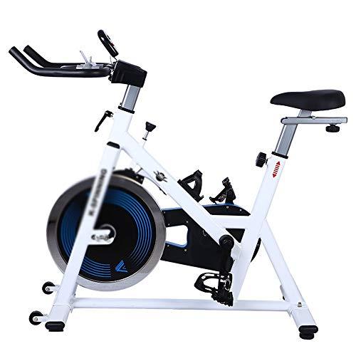 Sumferkyh Indoor-Radfahren Mute Spinning Bike Advanced mit Trainingscomputer und Ellipsentrainer Kalorien -