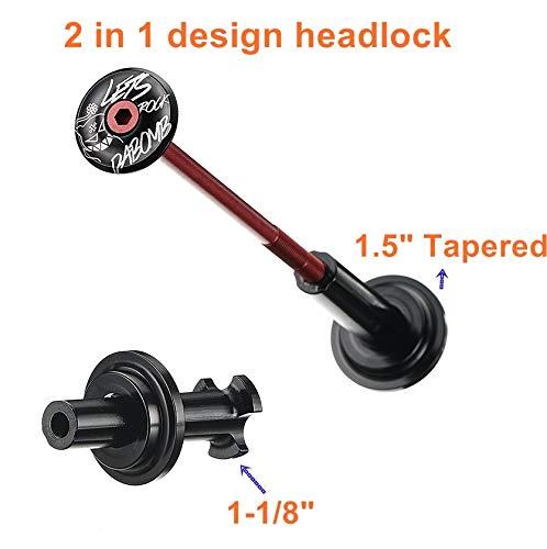 e99409e5fb Da Bomb Head Lock Bike Headset Stem Top Cap,1 1/8