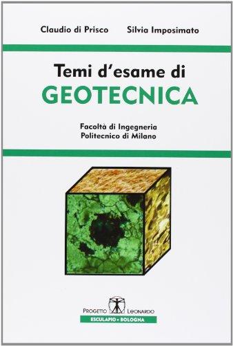 Temi d'esame di geotecnica