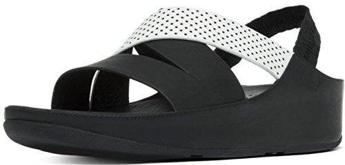 FitFlop femme sandales HOLA SANDAL Noir A38-001 Nero-Pan