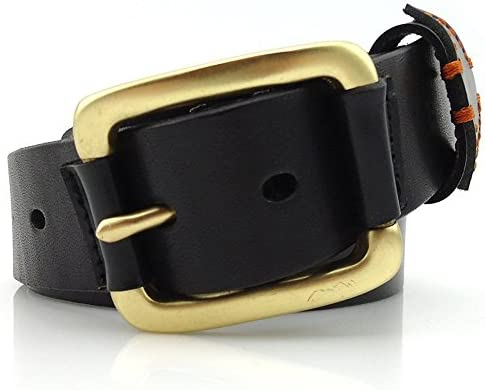Junjiagao Cintura da Uomo Uomo Uomo Business Casual Cintura in Pelle con Fibbia in Rame Massiccio (Dimensione   S) B07L8QTD4P Parent | prezzo di vendita  | Qualità Affidabile  | Ufficiale  | Prezzo di liquidazione  e6beb4