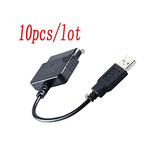 ny PS1PS2Playstation Dualshock 2Joypad Gamepad zu 3PS3PC USB Spiele Controller Adapter Konverter Kabel ()