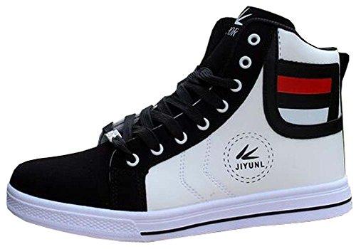 Herren Frühjahr Herren-Casual Sportschuhe atmungsaktiv Student Schuhe Weiß